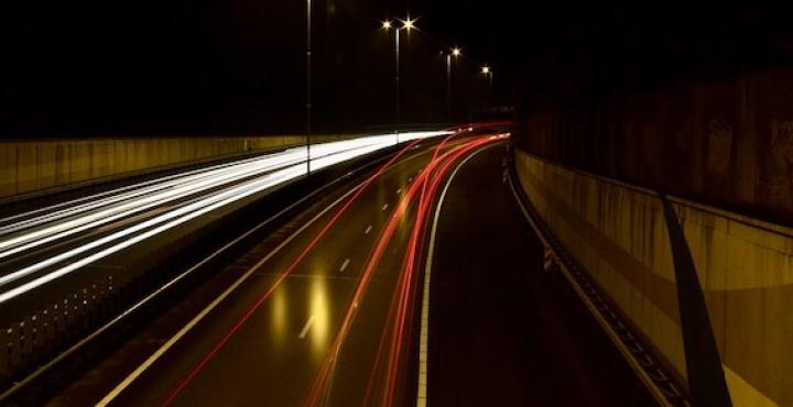 Manutenzione in galleria: chiusura notturna del tratto autostradale fra Sesto Calende e Castelletto Ticino
